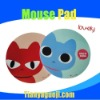 PP lovely round cartoon mouse pad