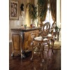 American & European carving wooden style bar table& bar chairs