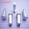 Dongguan newest Flat head solid rivet with zinc plated