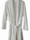 100%Polyester Hotel Bathrobe for Men and Women