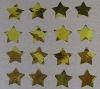 confetti metallic foil