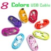 hot! For iphone cable, 3G/4G/4S, data/charge cable