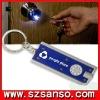 promotional LED keychains/Flashing keychain