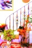 wrought iron staircase /interior stair rail
