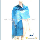Beautiful Blue Shawls Wholesale