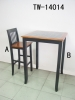 Wooden bar table & bar chair