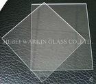 Clear quartz plate glass