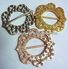 2012 newest rhinestones metal garment / belt buckles