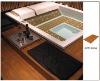 WPC indoor floor decking