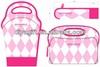 heat transfer print fancy neoprene lunch Bags