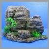 Customize fish tank aquarium accessories resin rockery