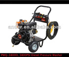 3800PSi, 4.8GPM Diesel High Pressure Washer, CE/EPA Approved
