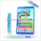 2.7inch colored screen newest kids french speaking toys which is full of fun educational games,ipad for kids learning