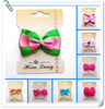 Green Cute Mini Bowknot Handmade Hairpin