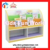 2012 latest children bookshelf colorful Plastic Toy Cabinet