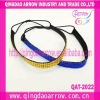 fashion elastic hairbands ladies crystal hair band
