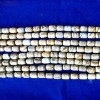 Only 2.66 Grade A Cylinder Shape Natural Picture Jasper Loose Strand