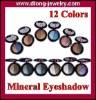 Waterproof Beauty Mineral Two-Color Eye Shadow,12 Different Colors