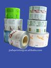 Colorful printed cosmetics packaging film