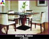 Modern Home Solid Wood Dining Table LT-M006