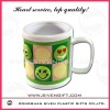 2011 fashion lovely design soft pvc mug with high quality
