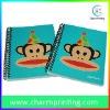 Blue Cartoon Spiral Notebook