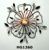 Metal Flower Candle Stand