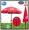 polyester garden outdoor umbrella with crank open strong frame
