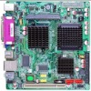2COM+VGA+VGA pins+1DDR2 DIMM+1PCI+1IDE+2SATA+8USB+Parallel,CF card ,MINI ITX motherboard