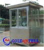 New style portable light steel small steel house & sentry box house & prefabricated steel house