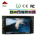 2 DIN CAR AUDIO Player with USB/SD+GPS/IPOD+AUX in+FM/AM