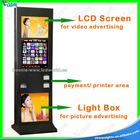 37 inch LCD Touch Kiosk Machine with Printer
