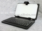 8 inch MID leather keyboard Support multilingual customized multicolored