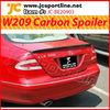 CLK W209 carbon spoiler kits rear spoiler trunk spoiler for Benz
