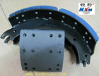 Heavy duty truck brake shoe assembly