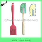 Flexible Handle Eco-friendly Silicone Kitchen Tool Set