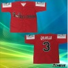 Custom sublimation baseball jersey with 100%polyester