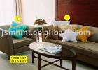 Solid Color Soft Short Pile Plush Sofa Cushion