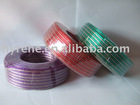 original size clear speaker cable with red line supplies/oem clear speaker cable/standard guage clear speaker cable