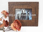 brown Harry potter chic design faux leather christmas photo frame