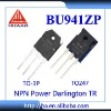 BU941 BU941Z BU941ZB BU941ZP NPN Power Darlington Transistor IC