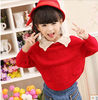 autumn fashion kids kardigan sweater