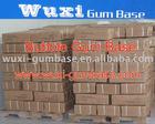 Bubble gum base block form
