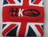 England Cotton Sweatband with embroidered logo