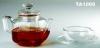 Pyrex Glass Teapot and Cup Set