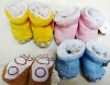 2012 new design fashionable sweet-smelling baby sock shoe socks