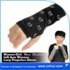 003 New Fashion Women Girls Soft Arm Warmer Short Fingerless Gloves