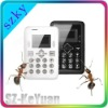 Multi Color Super Slim Card Size Small Mobile Phone