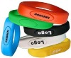 Full capacity silicone usb flash drive bracelets usb disk usb drive for gift