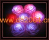 led float rose candles waterproof light